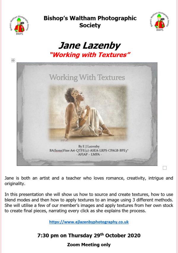 Jane Lazenby